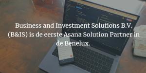 Lees meer over het artikel B&IS is de eerste Asana Solution Partner in de Benelux.